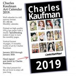 Calendar: 2019 Art Calendar (ENGLISH).