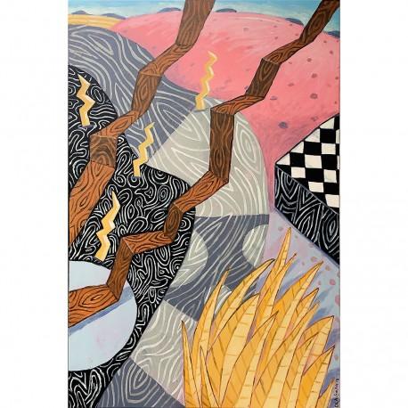 "Gemälde: ""New Landscape"""