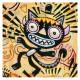 "3D Graphic: ""Crazy Cat & Hat"""