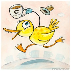 "3D Graphic: ""Coffee Duck"""