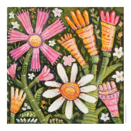 "3D Grafik: ""Spring Flowers - II"""