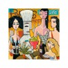 "Giclée Print on Canvas: ""In the Restaurant"""