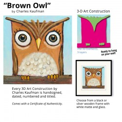"3D Graphic: ""Brown Owl"""
