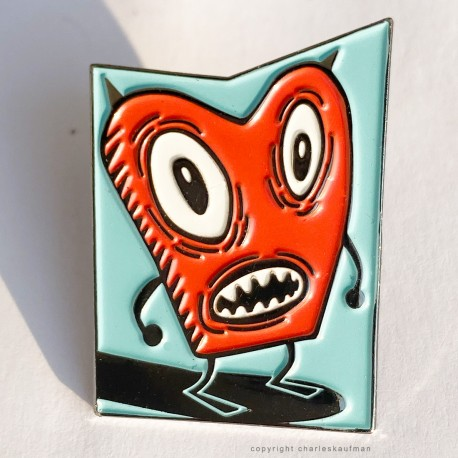 """Red"" Enamel Pin"