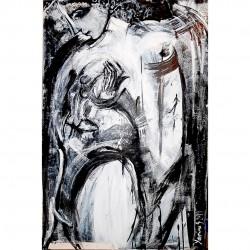 """Gemälde von Yasmina S: """"Feliĉo (Happiness)"""""""