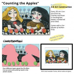 """3D Graphic: """"Counting the Apples"""""""