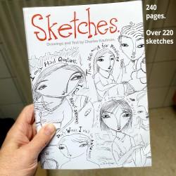 """Kunstbuch: """"Sketches"""""""