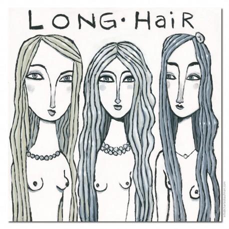 "3D Graphic: ""Long Hair"""