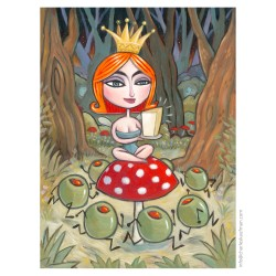 """3D Graphic: """"The Princess & the Olives"""""""
