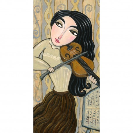 """3D Graphic: """"The Violin Player"""""""
