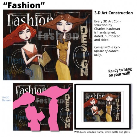 "3D Graphic: ""Fashion"""