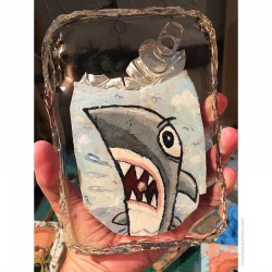 "Crushed Can Art: ""Shark!"""