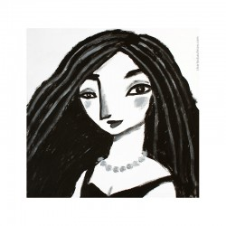 "Giclée Print on Canvas: ""Woman 3"""