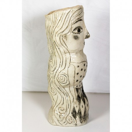 """Sculpture: """"Woman with Long Hair"""""""