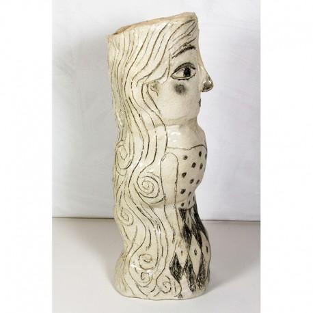 "Skulptur:  ""Woman with Long Hair"""