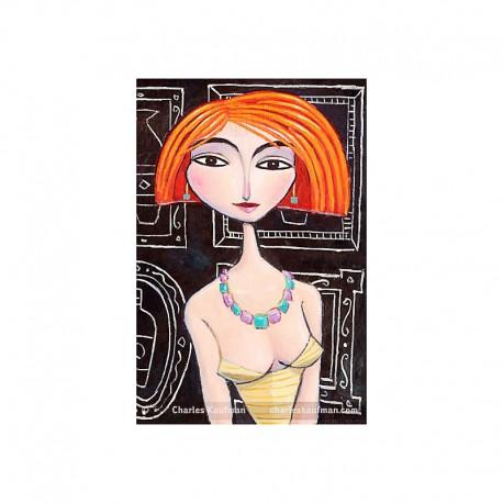 "Giclée Print on Canvas: ""I Met Her in Paris"""