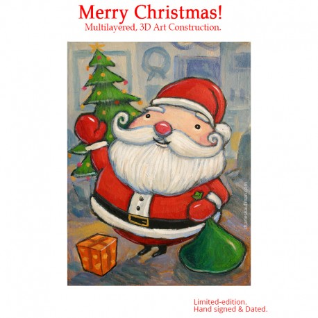 """3D Graphic: """"Merry Christmas!"""""""