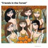 """3D Graphic: """"Friends in the Forest"""""""