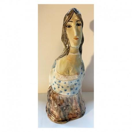 "Skulptur:  ""Woman in a Room"""