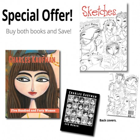 "Special Offer: ""540 Women + Sketches"" Books"