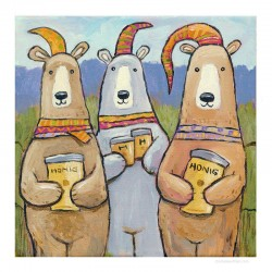 """3D Grafik: """"Three Bears"""""""