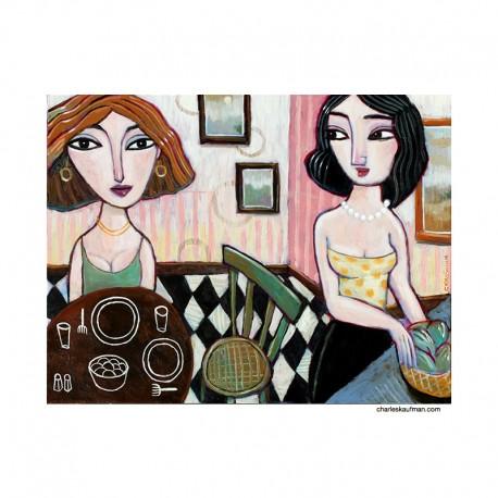 """Gemälde: """"Dinner for Two"""""""