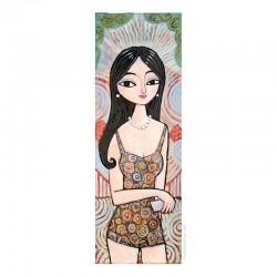 "Giclée Print on Canvas: ""A New Dress"""
