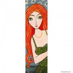 "Giclée-Druck auf Leinwand: ""Red Hair"""