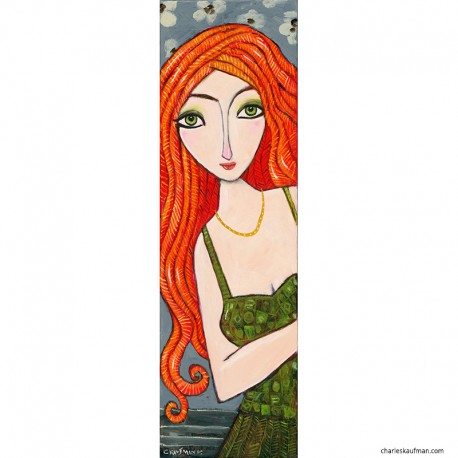 "Giclée Print on Canvas: ""Red Hair"""