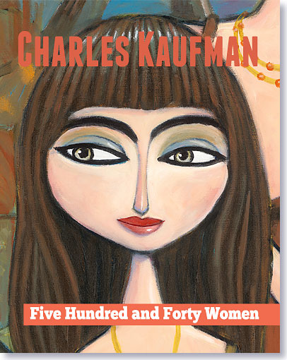 """Five Hundred and Forty Women"" is a collection of over 540 women in paintings by artist Charles Kaufman."