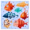 "Painting: ""Seven Swimming Fish"""