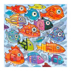 "3D Graphic: ""Colorful Fish in the South South Sea"""