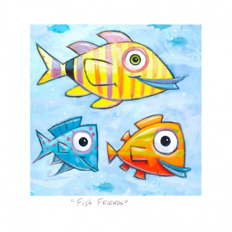 "3D Graphic: ""Fish Friends"""