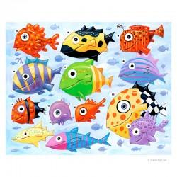 """3D Grafik:  """"The Ocean is Full of Colorful Fish"""""""